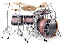 Sonor Select Force Studio Set - Chrome & Brown Galaxy