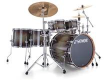 Sonor Select Force Studio Set - Chrome & Dark Forrest Burst