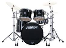Sonor Select Force Studio Set - Chrome & Piano Black