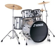 Sonor Smart Force Combo Set - Black & Brushed Chrome