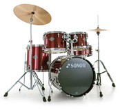 Sonor Smart Force Stage 1 Set - Chrome & Wine Red
