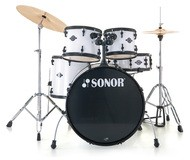 Sonor Smart Force Stage 2 Set - Black & Snow White