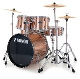 Sonor Smart Force Studio Set - Chrome & Brushed Copper