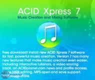 Sony ACID 7 Xpress