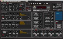 Soundtower DSI PROPHET '08  SoundEditor