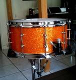 Spaun Drums Spaun 14x6,5 maple snare 29 ply sparkle