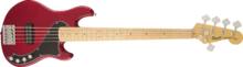 Squier Deluxe Dimension Bass V