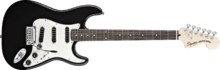 Squier Deluxe Hot Rails Strat