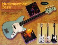 Squier Vista Musicmaster Bass