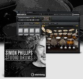 Steinberg Simon Phillips Studio Drums