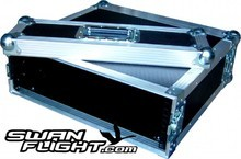 Swan Flight 3u 2 Door Rack Case