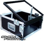 Swan Flight 5U Lift Up Case with 12U Top Section