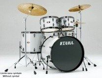 Tama IM52BNHH6-WWM - IMPERIALSTAR HYPERDRIVE BLACK NICKEL EDITION - WINTER WHITE MIST
