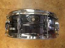 "Tama Imperialstar Black Nickel Over Steel 14 x 5.5"" Snare"