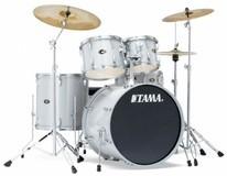 Tama Imperialstar IM52SKH6 Limited Edition 2012 - Hairline White Sparkle