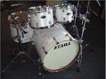 Tama Tom Bass 14 suspendu Starclassic White Silk