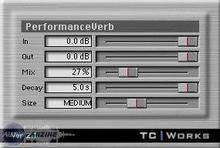 TC Electronic PerformanceVerb