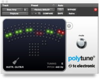 TC Electronic PolyTune Plug-In