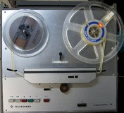 "Telefunken / Siemens M28 Master Stereo 1/4"" pleine piste"