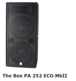 the box PA 252 ECO MKII