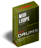 The Loop Loft Epic Drums Vol 1 - MIDI Drum Loops
