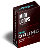 The Loop Loft Epic Drums Vol 2 - MIDI Drum Loops