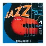 Thomastik Infeld Jazz Flat Wound JF324