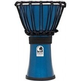 Toca Percussion Freestyle Colorsound 7'' Djembe - Metallic Blue