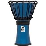 Toca Percussion Freestyle Colorsound 7'' Djembe - Metallic Blue