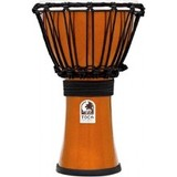 Toca Percussion Freestyle Colorsound 7'' Djembe - Metallic Orange