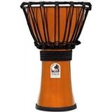 Toca Percussion Freestyle Colorsound 7'' Djembe - Metallic Orange