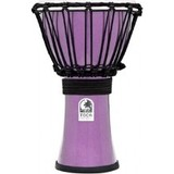 Toca Percussion Freestyle Colorsound 7'' Djembe - Metallic Violet