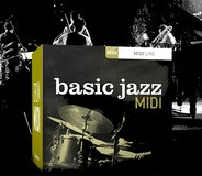Toontrack Basic Jazz MIDI