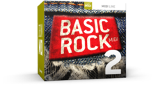 Toontrack Basic Rock 2 MIDI