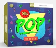 Toontrack Eighties Pop Grooves MIDI