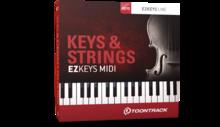 Toontrack EZkeys Keys & Strings MIDI Pack