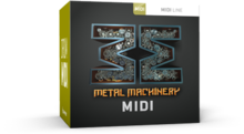 Toontrack Metal Machinery MIDI