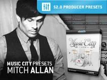 Toontrack Music City Presets - Mitch Allan