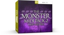 Toontrack The monster midi pack 2 - Odd meters