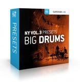 Toontrack Toontrack NY Vol 3 Presets - Big Drums