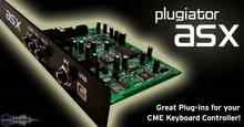 Use Audio Inc. Plugiator ASX pour claviers CME
