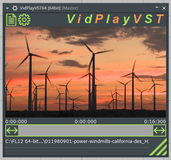 VidPlayVST Multi-Format Video Player VSTi Plugin