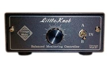 VintageMaker Little Knob 2x1 - Passive Discrete Monitor Volume Controller