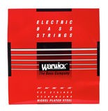Warwick Red Strings RoundWound Nickel Plated Steel