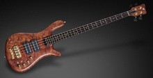 Warwick Streamer Stage II Bubinga Pommelé for Justin Chancellor