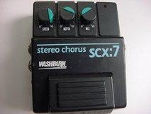 Washburn scx:7 Stereo Chorus