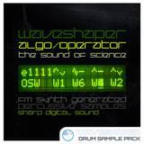 waveshaper algo operator [FM drum sounds]