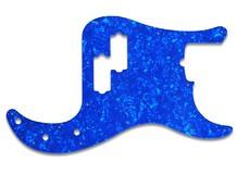 Wd Music Pickguard Fender Precision Standard blue pearl
