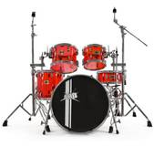 WHD Acrylic Drum Kit