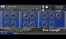 Wobblophones Blue Triangle